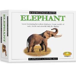 Skullduggery Eyewitness Kit Elephant Casting Kit Toys & Games