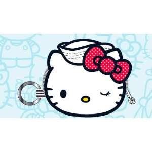 Kitty Sanrio Nautical Sailor Logo Coin Bag Purse