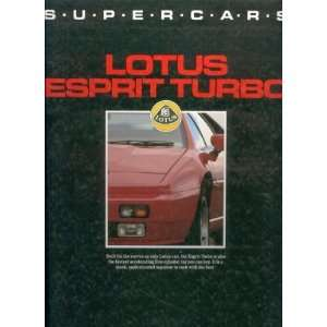Supercars Lotus Esprit Turbo (Supercars) (9780861014415
