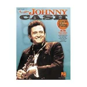 Hal Leonard Johnny Cash   The Hits For Easy Piano