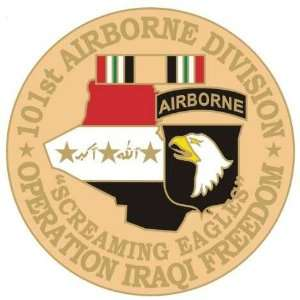 NEW U.S. Army 101st Airborne Division O.I.F. Pin   Ships