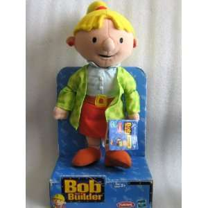 Bob the Builder   Plush Wendy Doll   2000 Hasbro/Playskool