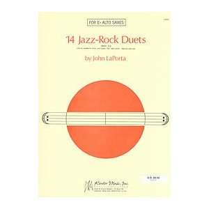 14 Jazz Rock Duets (Alto Saxes) (0822795158304) Books