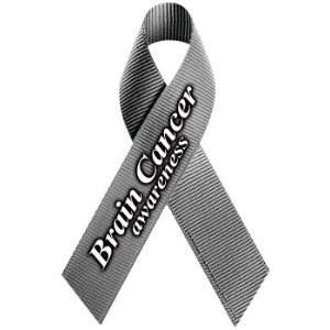 Brain Cancer Awareness Ribbon Magnet: Automotive