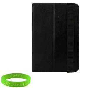 Kindle Fire Black Vintage Melrose Leather Case