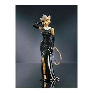 Katty Go Lightly Alley Cat Figurine by Margaret Le Van and