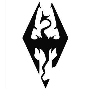 Elder Scrolls Skyrim Logo Vinyl Die Cut Decal Sticker 7