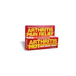 Arthritis Hot DEEP PENETRATING Pain Relief Crème 3 oz. (3