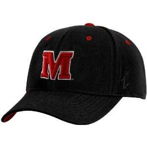 Zephyr Maryland Terrapins Black DHS Fitted Hat