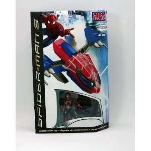 Mega Bloks Spider Man 3 Transporter with Red Spider Man