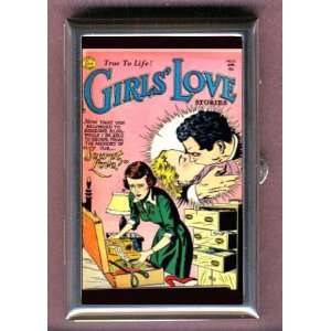 SECRET COMIC BOOK GIRLS LOVE Coin, Mint or Pill Box Made