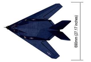 New 4 CH 2.4GHz F 117 Stealth Fighter Radio Remote Control Jet RTF w