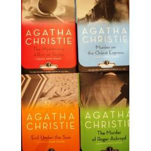 Under the Sun, The Murder of Roger Ackroyd Agatha Christie Books