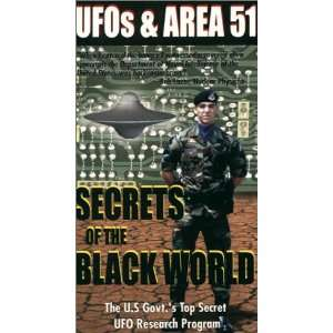 UFOs & Area 51, Volume 1: Secrets of the Black World [VHS