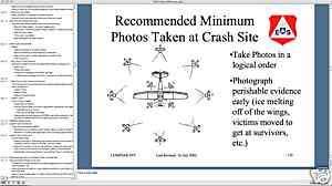 423 p. CIVIL AIR PATROL SEARCH & RESCUE PowerPoint Presentation CD