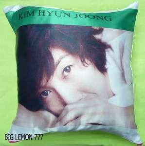 KIM HYUN JOONG ~ SS501 Photo Cushion Pillow Cover Q2