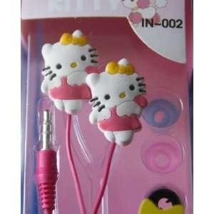 Koolshop 3D Hello Kitty Angel Silicone Stereo Earphones