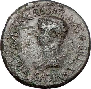 BRITANNICUS, † 55AD. Bronze Sestertius. Perinthus. c.53AD