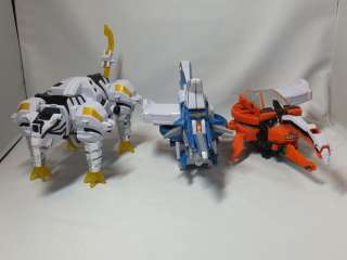Power Rangers SAMURAI ORIGAMI ZORD set of 3 for DX SHINKENOH MEGAZORD