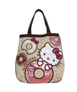 Tote Bag SANRIO NEW Hello Kitty Donut Canvas Hand Bag