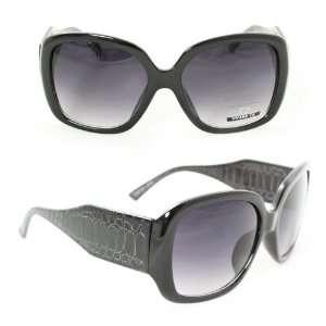 Fashion Women Sunglasses 4078 Black Snake Frame Black
