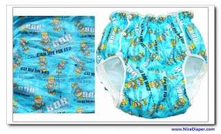 2215 084 JAPAN Adult Baby Diapers Plastic Pants Cover