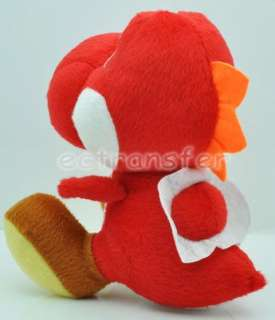 Super Mario YOSHI (Red) 7 Plush Doll Soft Toy/MT109