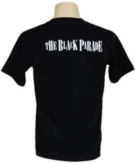 MY CHEMICAL ROMANCE Band The Black Parade Men T Shirt S