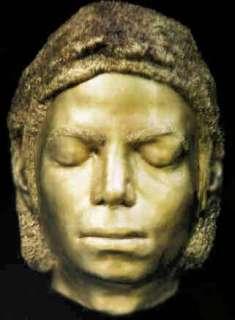 MICHAEL JACKSON life mask pop gold music