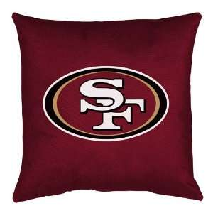 Room Pillow   San Francisco 49ers NFL /Color Deep Claret Size 18 X 18