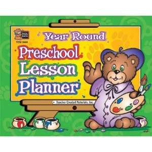 Year Round Preschool Lesson Planner Toys & Games