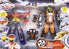 Power Rangers RPM High Octane Megazord Zeo Turbo Rescue