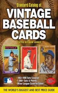 Catalog of Baseball Cards by Bob Lemke, F+W Media  NOOK Book (eBook