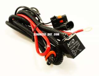 H4 9003 Xenon HID Conversion Kit Wire Relay Harness