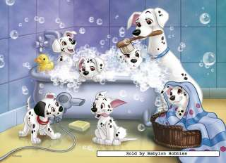 picture of Nathan 60 pieces jigsaw puzzle Disney   Time for Bath 101