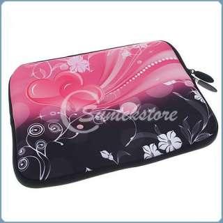 10 Love Heart Laptop Bag Netbook Case HP Mini 110 210