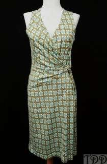 NEW $198 Tommy Bahama Sleeveless Silk Wrap Dress New XS