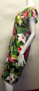 Barbara Barbara Floral print Spring vintage DRESS 10 M