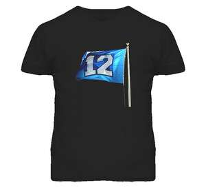 12th Man False Start Seattle Seahawks Football T Shirt