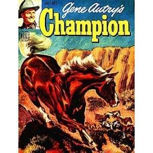 Gene Autrys Champion (1950 series) #3: Dell Publishing: Books