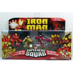 Iron Man Movie Toy Super Hero Squad Battle Pack Crimson
