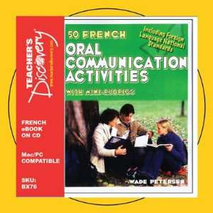 Oral Communication Activities Book on CD Teachers Discovery Books