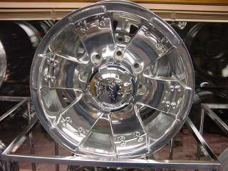 17x9 ION 148 WHEELS FORD CHEVY DODGE GMC 8 LUG POLISHED 8 ON 6.5/ 8 ON