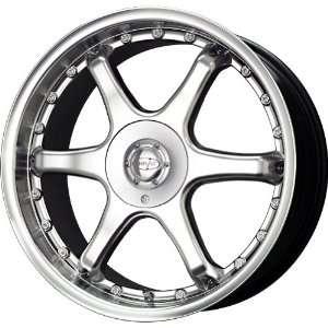 Privat Sekt League Silver Machined Wheel (8x5/5x114.3mm