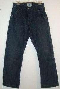 Gap Mens Industrial Denim Distress Jeans 30 x 30 #1755