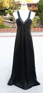 NWT BCBG MAX AZRIA $444 Black Womens Formal Gown 0