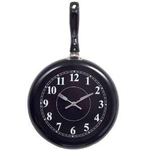 Lexington Modern Pan Shaped Wall Clock