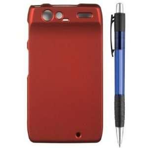 Metallic Red Premium Design Protector Hard Cover Case for