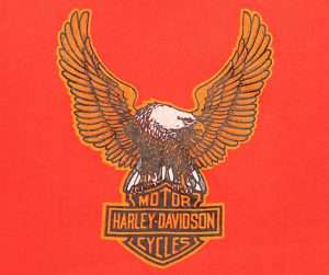 VTG 1970s HARLEY DAVIDSON EAGLE TEE T SHIRT PERFECT CONDITION CLASSIC