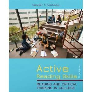 Active Reading Skills: Reading and Critical Thinking in